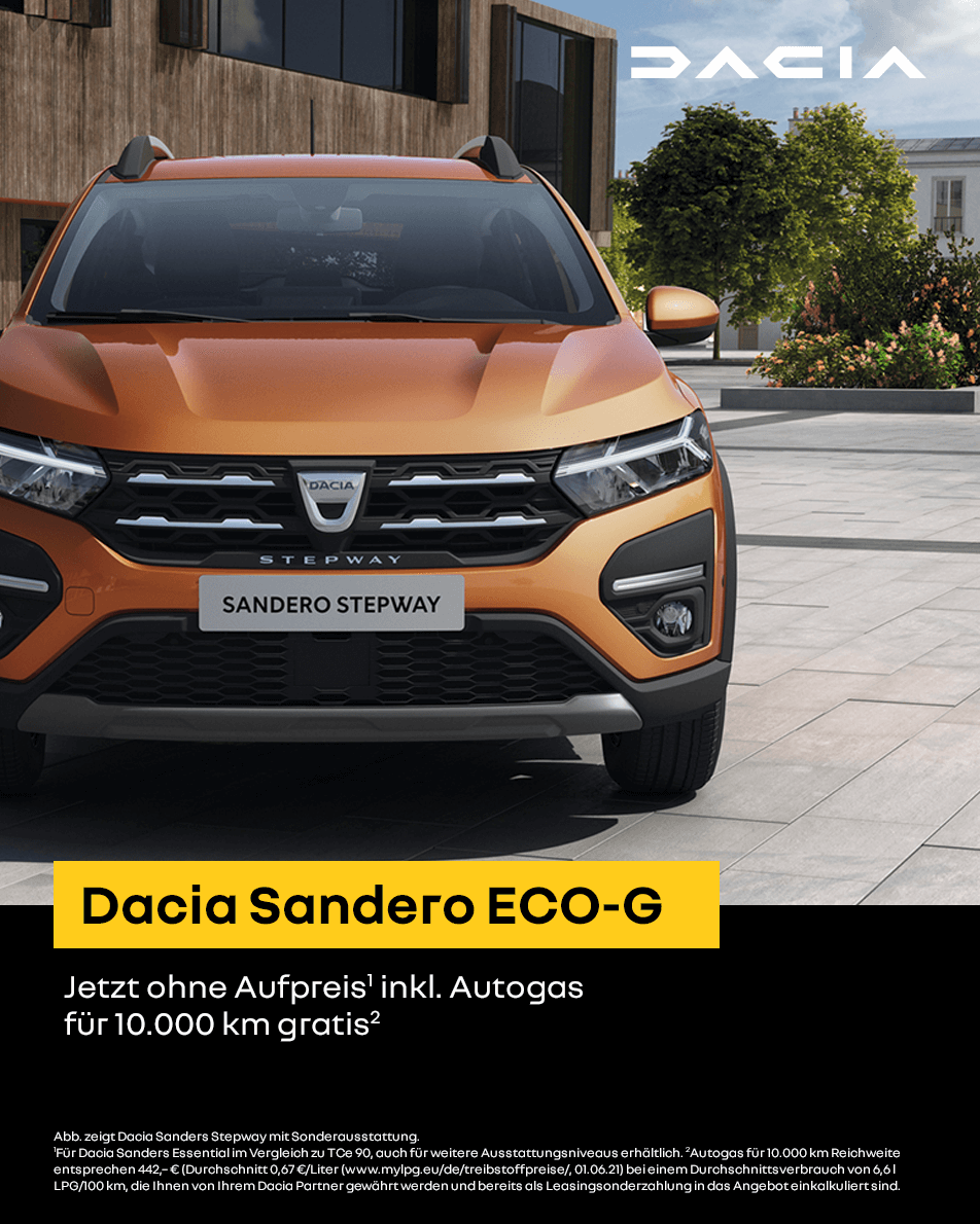 Dacia Sandero Eco G